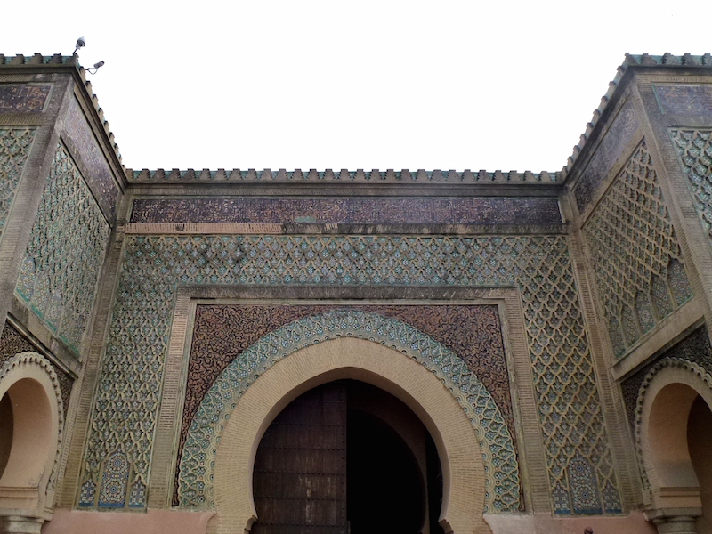 18th century gate of Bab Mansour